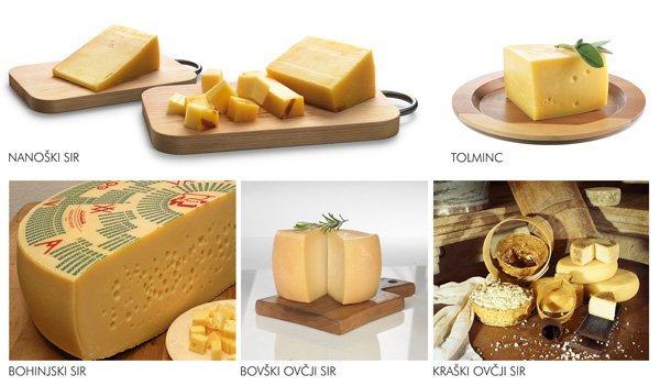 Kateri pa je vaš najljubši slovenski sir?