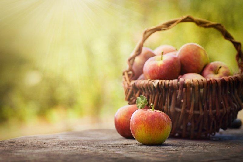 Atomski potencial domačega jabolka