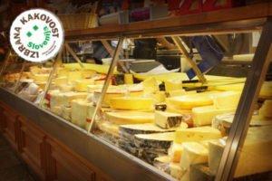 Potrjena specifikacija »IZBRANA KAKOVOST« za mleko in mlečne proizvode