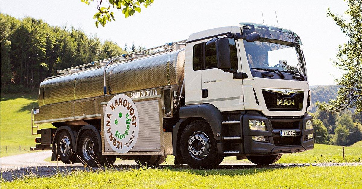 """Zaščitni znak """"izbrana kakovost – Slovenija"""" je zagotovilo za kakovostno mleko iz Slovenije"""