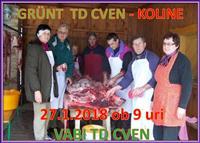 Koline – GRÜNT -TD CVEN (Cven, Ljutomer)