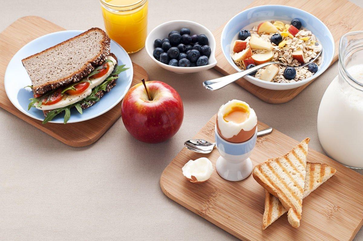 Zajtrk na mizi