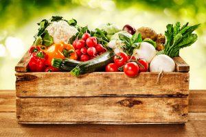 Zabojček zelenjave