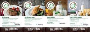 Promocijski letaki »Izbrana kakovost Slovenija« – mleko in meso