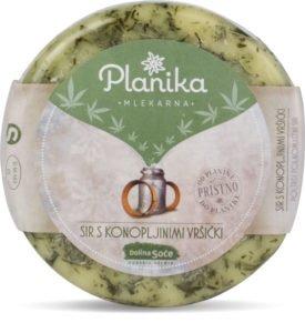 Novo na trgu: sir s konopljinimi vršički