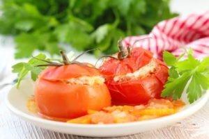 Paradižniki, polnjeni z mletim mesom – recept