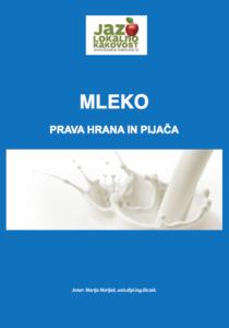 Brezplačni priročnik: Mleko, prava hrana in pijača