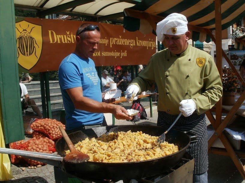 Svetovni festival praženega krompirja Radlje ob Dravi