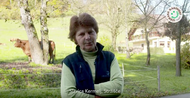 [VIDEO] - Rejka o prednosti vključitve v shemo »izbrana kakovost – Slovenija« za pridelovalce