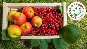 Potrjena specifikacija »Izbrana kakovost« za vse vrste sadja