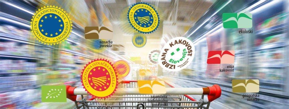 Sheme kakovosti - Označevanje živil
