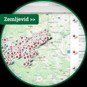 Zemljevid pridelovalcev in predelovalcev Slovenije, lokalni proizvajalci