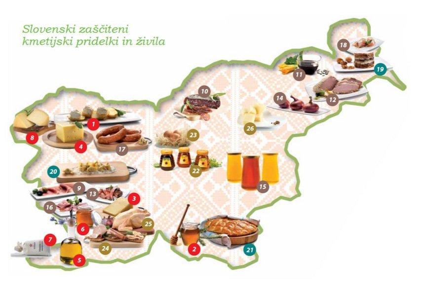 Zaščiteni kmetijski pridelki in živila