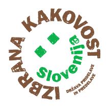 Izbrana kakovost Slovenija - logotip