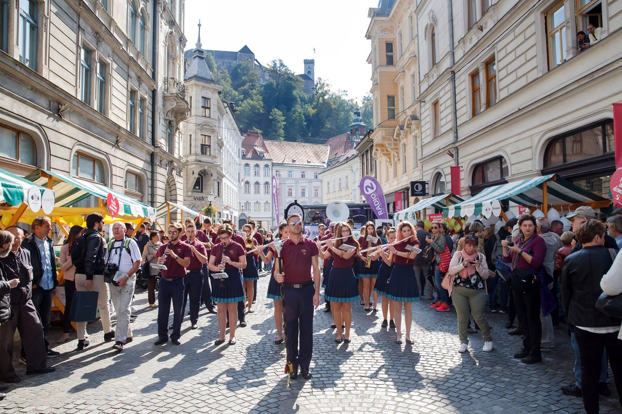 Po primorsko v Ljubljani