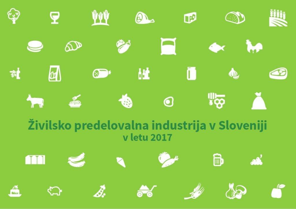 Brošura – Živilsko predelovalna industrija v Sloveniji v letu 2017