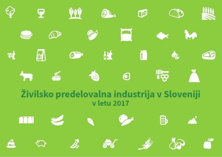 Brošura - Živilsko predelovalna industrija v Sloveniji v letu 2017