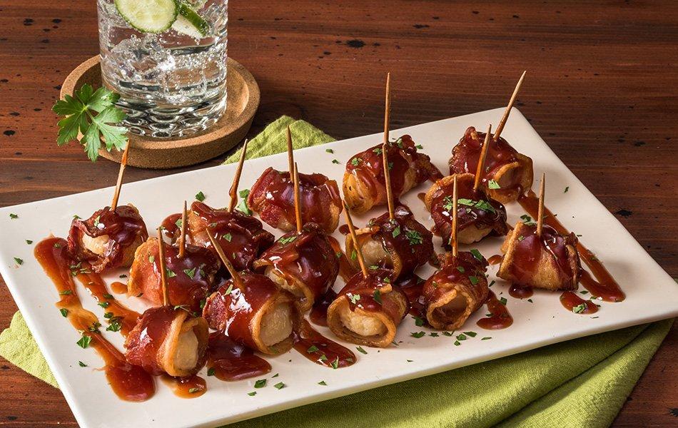Kostanj s slanino kot predjed – recept