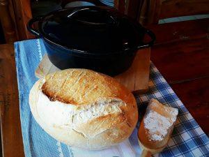 Domač kruh brez gnetenja – recept