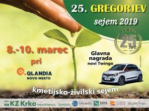 Gregorjev sejem, že 25. po vrsti, je posvečen zemlji