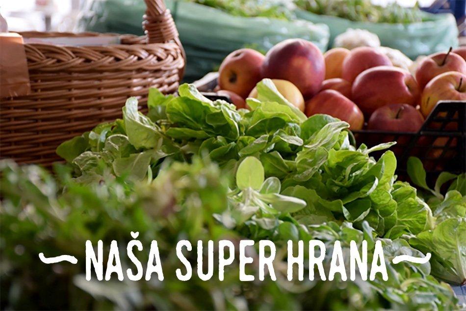 Kaj predstavlja projekt Naša super hrana