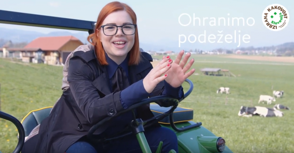 [VIDEO] O hrani, ki ohranja podeželje