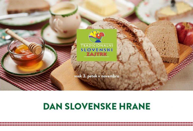 Tretji petek v novembru – dan slovenske hrane 2019
