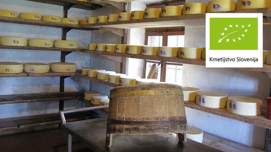 Ekološko mleko - sir