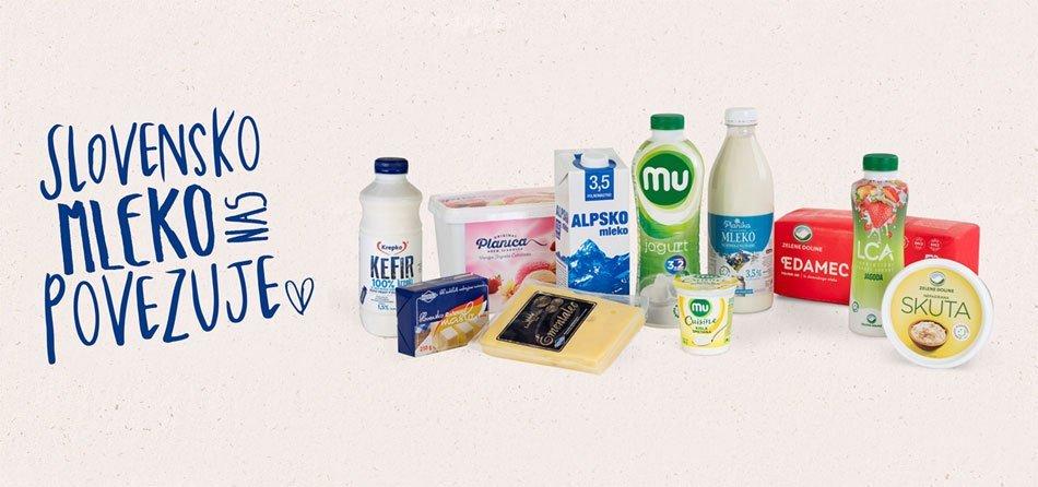 Slovensko mleko povezuje