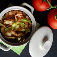 Sladko zelje s paradižnikom – recept