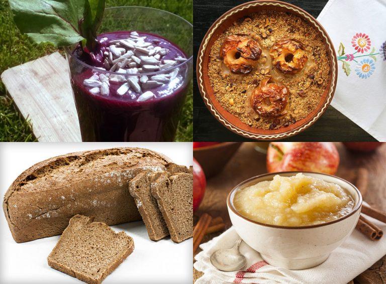 Štirje poletni zajtrki iz lokalnih sestavin