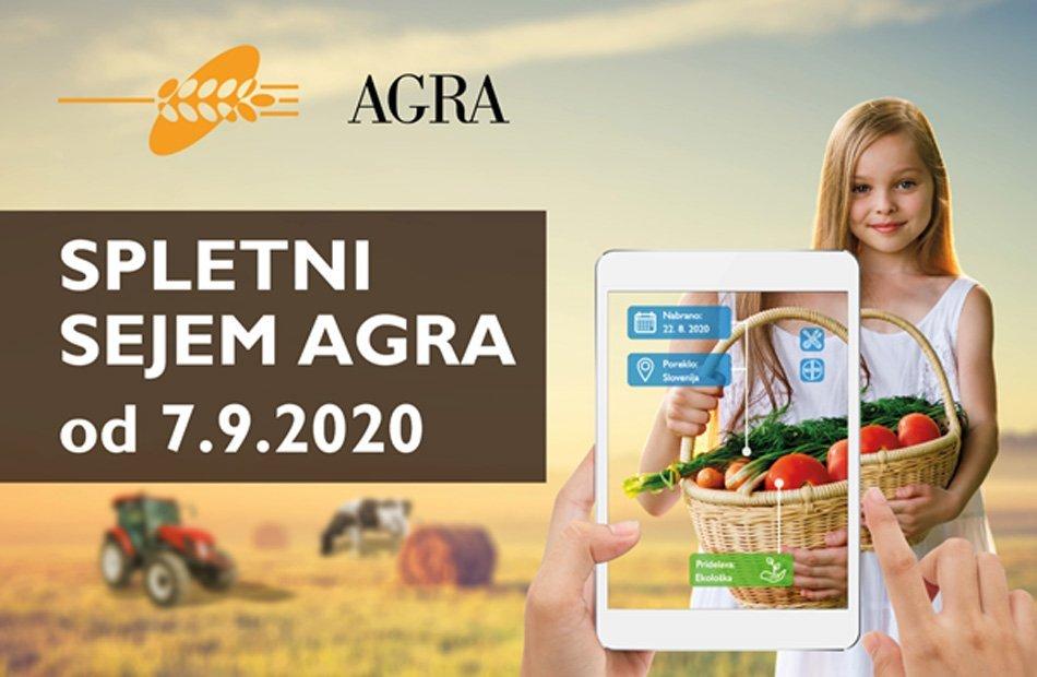 Plakat spletni sejem Agra 7.9.2020