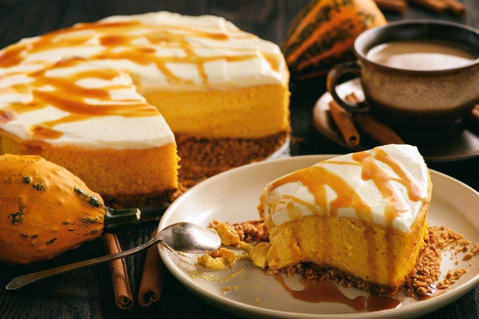 Domači okusni bučni kolač s prelivom