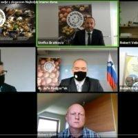 Zaslonska slika ZOOM konference