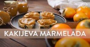Kakijeva marmelada in kakiji na mizi
