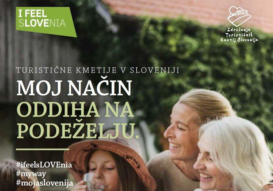 Naslovka publikacije Turistične kmetije Slovenije