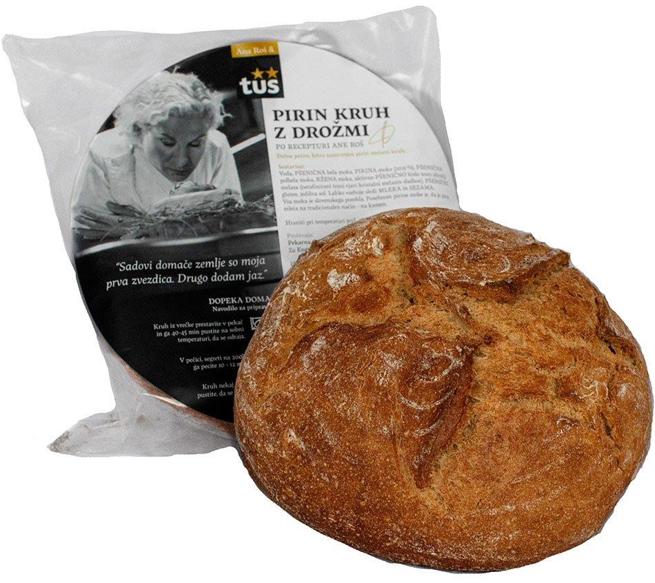 Pirin kruh z drožmi - inovacija leta 2021