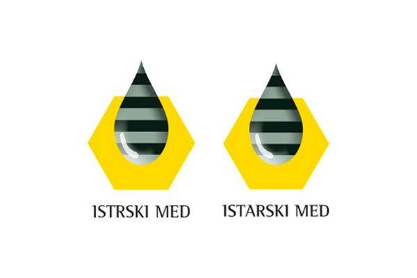 Logotipa Istrski med / istarski med