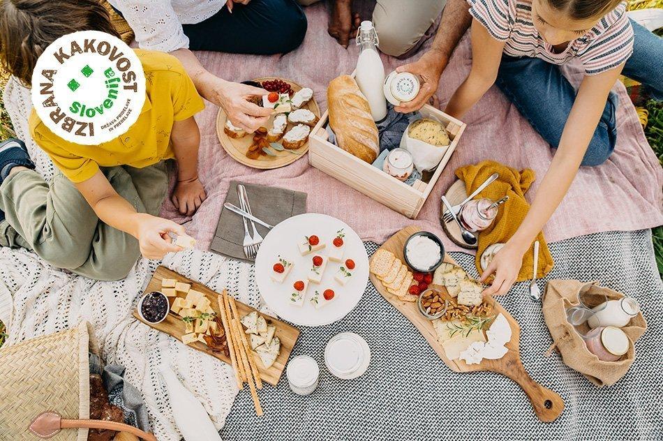 Piknik mlečni izdelki